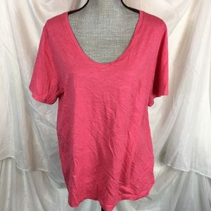 Splendid Size XXL Short Sleeve V-Neck Shirt Plus